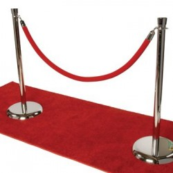 Ropes-and-stanchions
